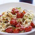 Capellini with Tomatoes and Basil Recipe from Ina Garten - House Beautiful