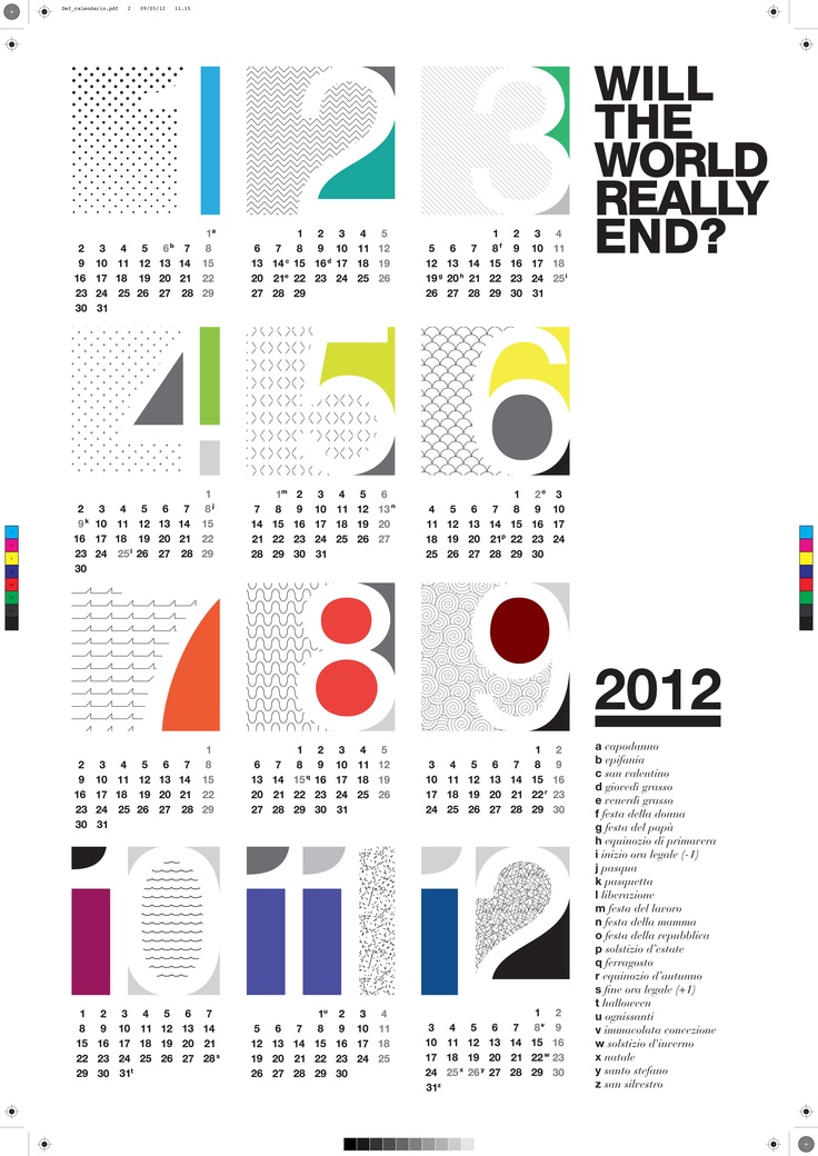 It 39 s enough design economico design calendar design for Design economico