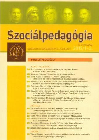 Megjelent a Szociálpedagógia c. szakfolyóirat Múzeumpedagógia tematikus száma | Múzeumpedagógia