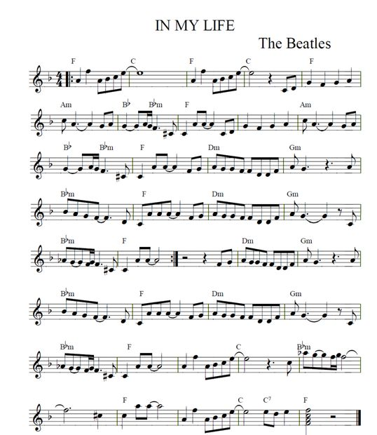 Best 25+ In My Life Beatles Ideas On Pinterest