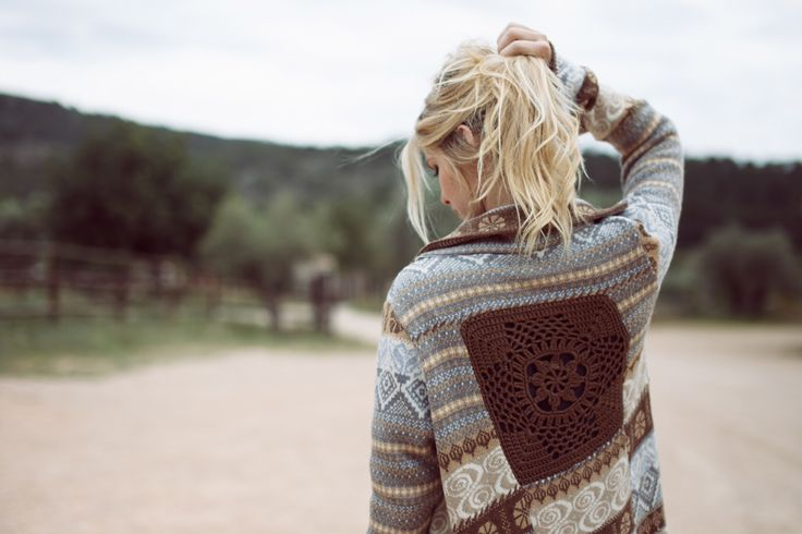 Long knitted cardigan from ChillNorway jaquard Knithttp://instagram.com/gaarudhouge