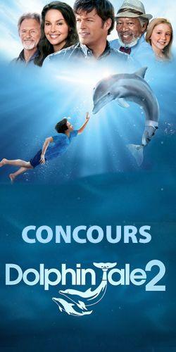 Gagnez 100$ de cadeaux Histoire de Dauphin 2. Fin le 21 septembre.  http://rienquedugratuit.ca/concours/cadeaux-histoire-de-dauphin-2/