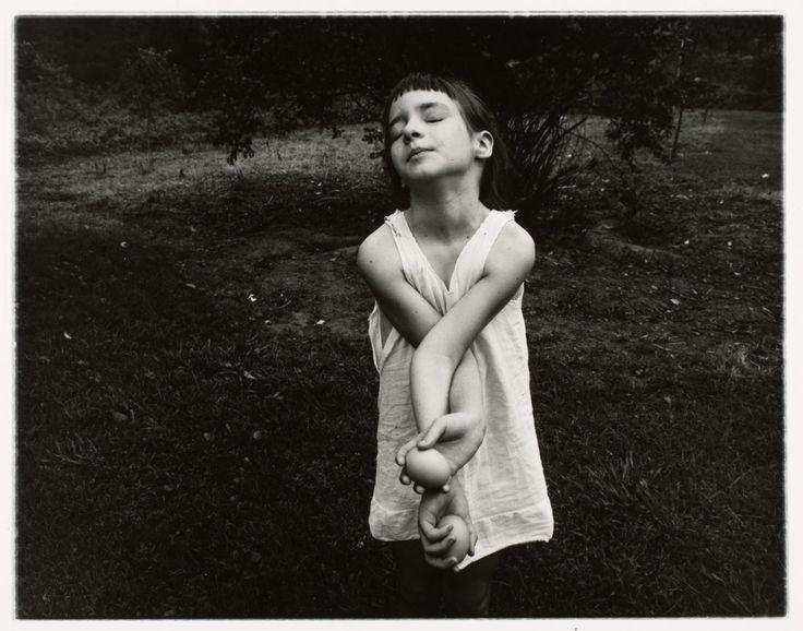 :: Nancy Wells, Danville, Virginia | 1969 |  Emmet Gowin | Gelatin silver print ::