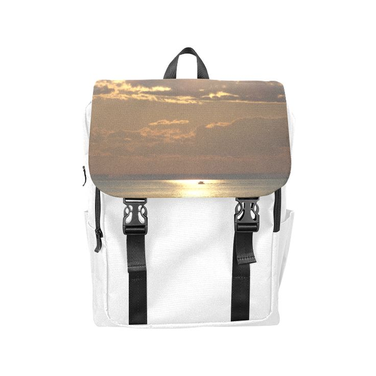 Awesome Sea Scene Casual Shoulders Backpack (Model 1623)