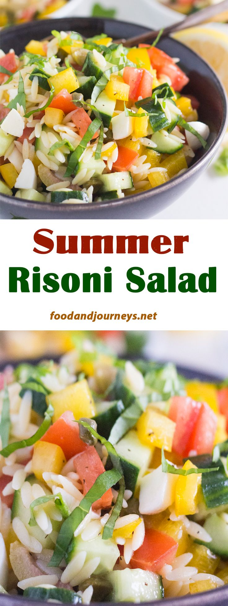Enjoy this deliciously healthy salad as an appetizer, a side dish or as the main dish!