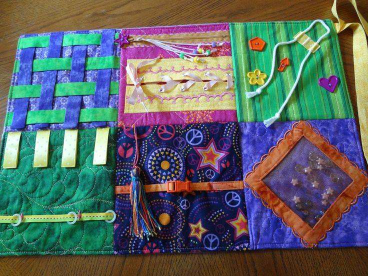 My original design for a Fidget Pad for Alzheimer patients