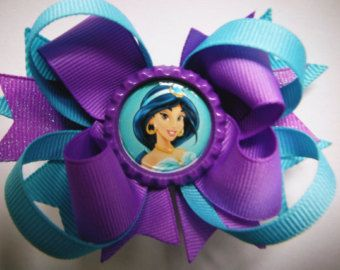 Elsa Bow Frozen Bow Elsa Party Favor Queen by ThePurpleLadybug1