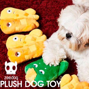 Nuevos juguetes de peluche para perros Zee.Dog 🐶  Diferentes modelos! Elige el tuyo 😻