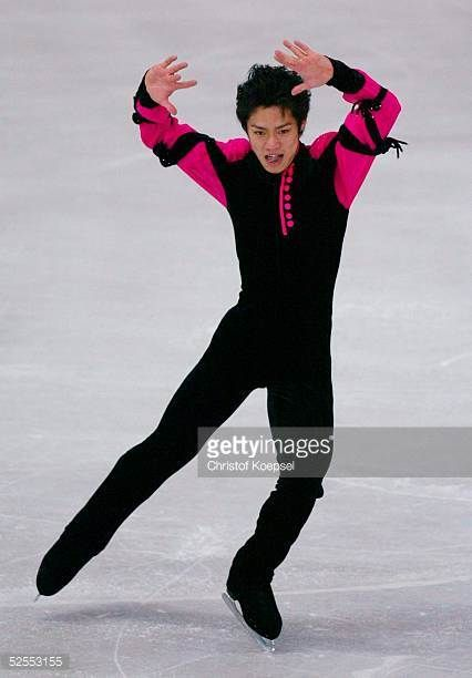 Wintersport / Eiskunstlauf WM 2004 Dortmund Kurzprogramm Maenner Daisuke TAKAHASHI / JPN 230304