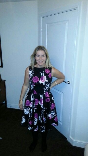 Ruby dress, quick and easy to make. if you are tall double check the lenght of the skirt. its quite short
