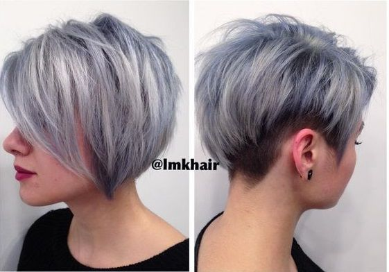 "Grau ist die Trendfarbe 2016! ""And we still love it!"" - Neue Frisur"