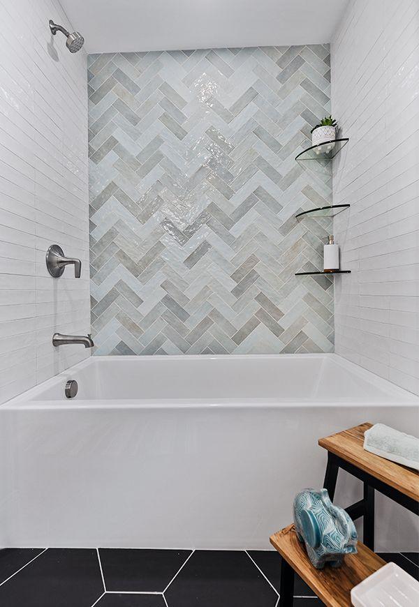 Bathroom Tile Bathroom Floor Tile In 2021 Boys Bathroom White Subway Tile Shower Vertical Shower Tile