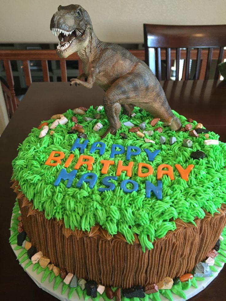 17 Best ideas about Dinosaur Birthday Cakes on Pinterest ...