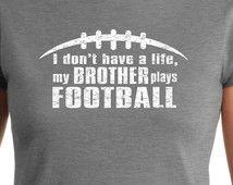 Popular items for football mom shirt on Etsy