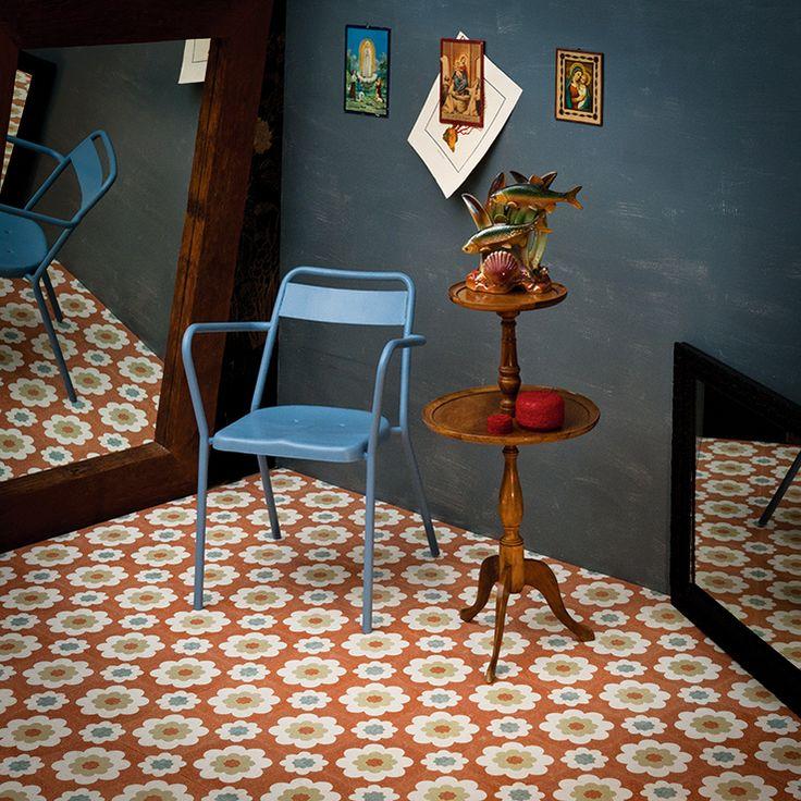 Un viaggio di ricerca nel mondo della decorazione. A research journey in the world of decoration. Collection Cuba realized by Mipa. Graniglia 100% Made in Italy.