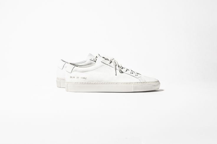 The BEST white sneakers - Common Projects.