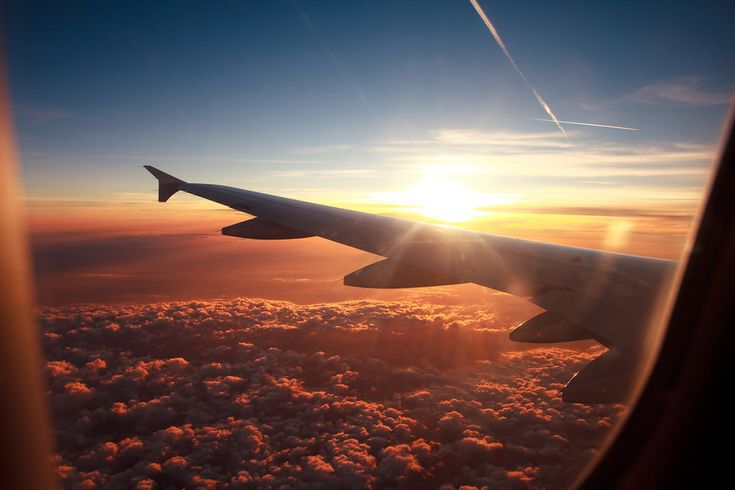 Sunset over Switzerland | 39 Truly Spectacular Views Out Airplane Windows