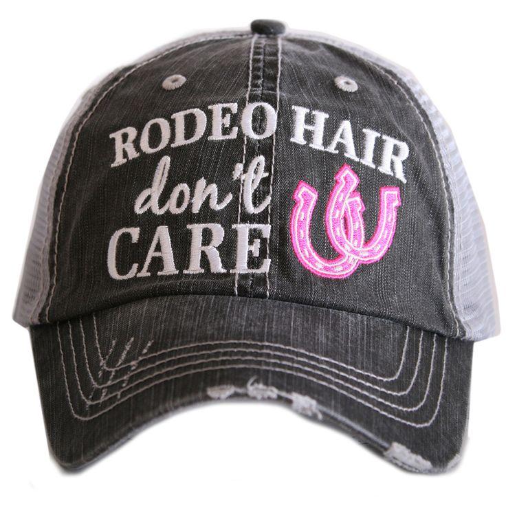 Rodeo Hair Hat-Pink - Ya Ya Gurlz