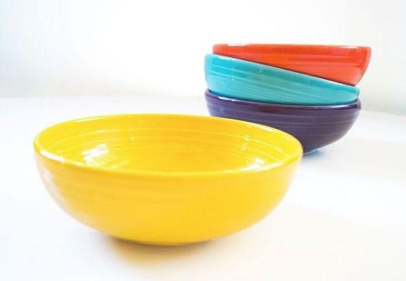 Fiesta Fiesta Dinnerware Fiestaware Colorful Dinnerware Colorful Plates Colorful Bowls Made In U S A Fiesta Dinnerware Dinnerware Bowl
