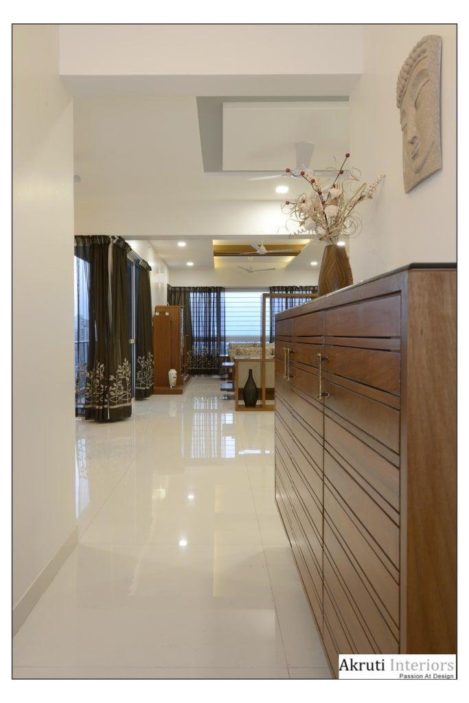 4 Bhk Apartment At Amanora Pune Modern Corridor Hallway Stairs