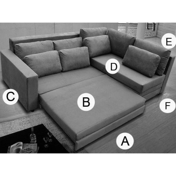 17 melhores ideias sobre sof cama casal no pinterest for Catalogos de sofas cama