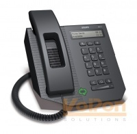 The snom UC600 Lync IP Phone offers numerous functions that are vital for everyday working life. The snom UC600 is a traditional VoIP desk phone that designed and qualified for use with Microsoft Lync. The phone has many features, including a two-line backlit LCD display, a presence status light for effectively directing calls and a series of convenient keys.