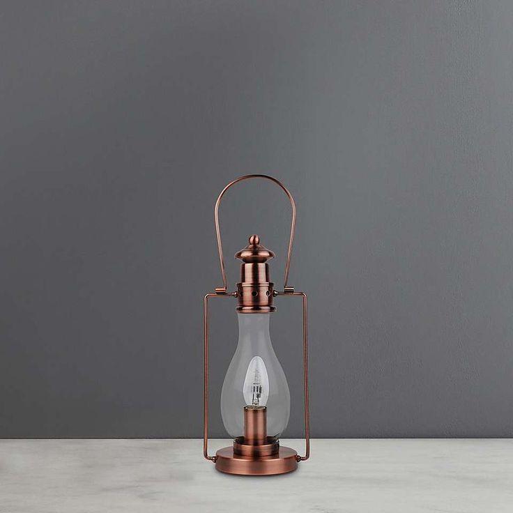 Horse Copper Lantern   Dunelm