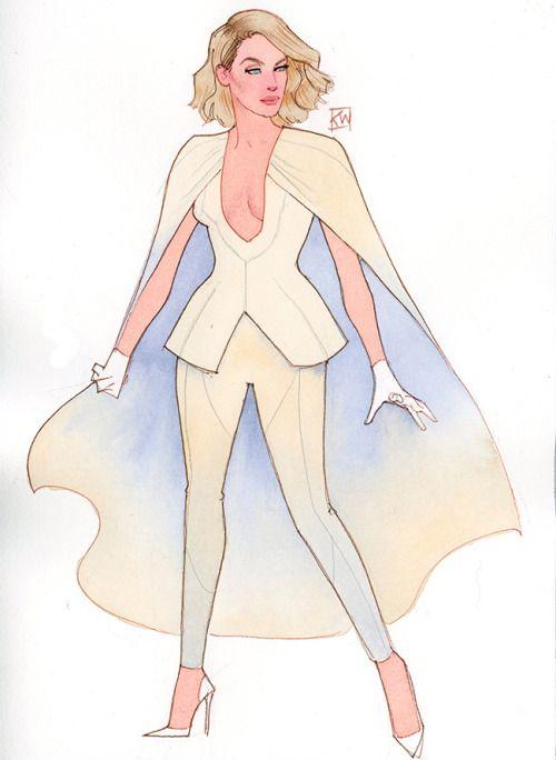 Emma Frost Fashionized - Kevin Wada                                                                                                                                                                                 Más