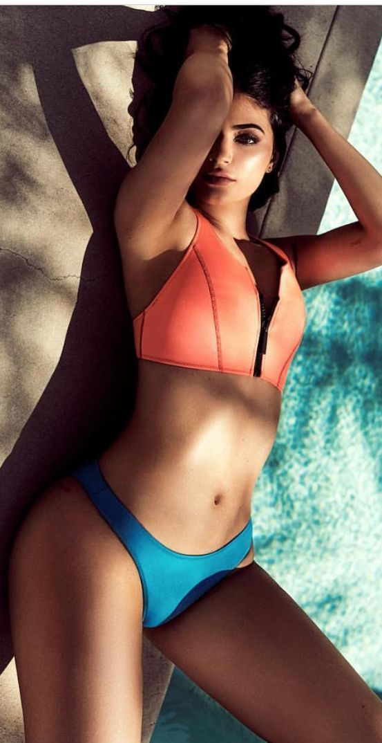 Kylie Jenner for Kendall + Kylie swimsuit collection