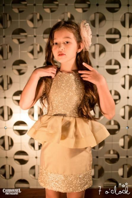 7 o'clock couture children dress by Agit