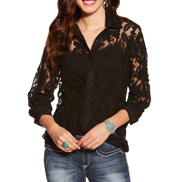 Ariat Women's Lace Snap Shirt