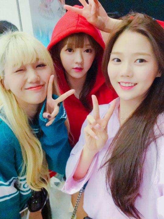 Hyojung, YooA and Hyojung