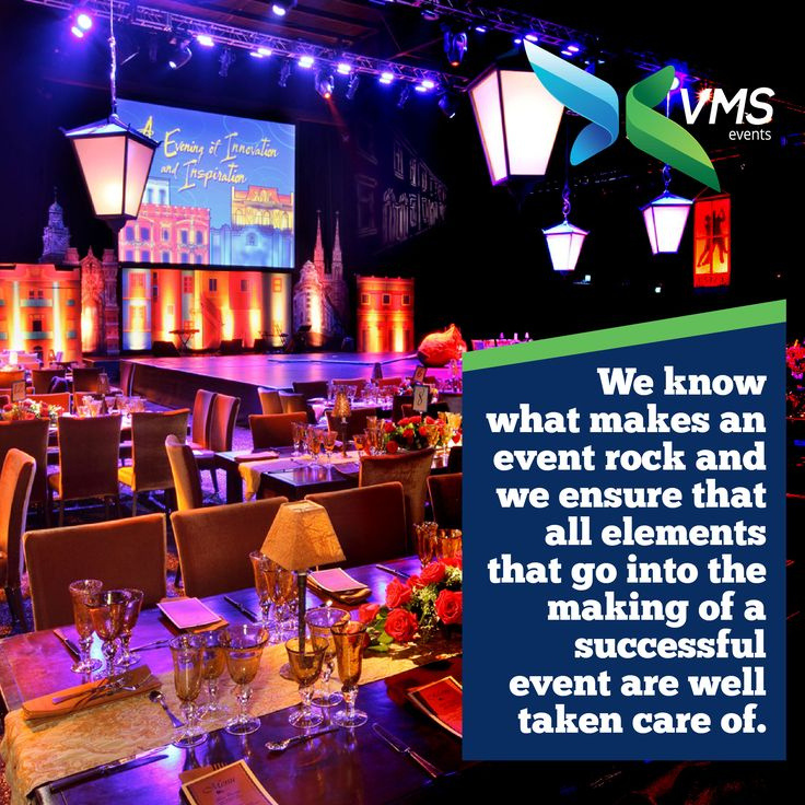 We know what makes an #event rock and we ensure that all elements that go into the making of a successful event are well taken care of. #VmsEventsPvtLtd