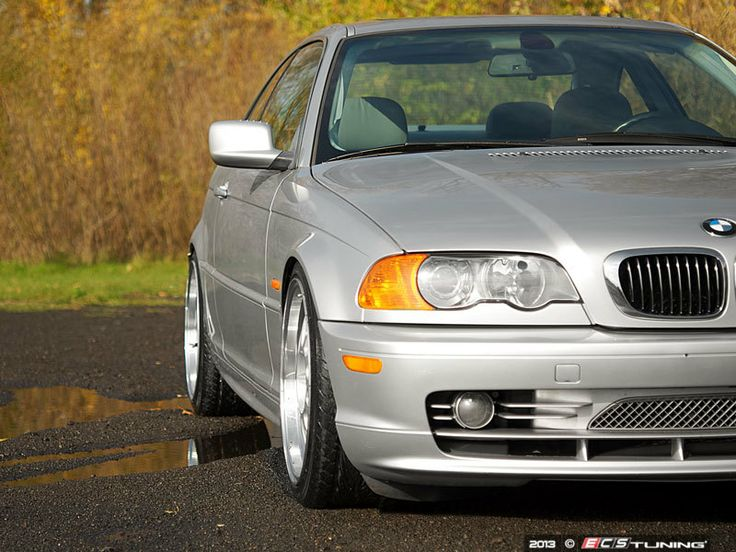 BMW E46 330Ci Modifications: Alzor 881 (Front: 18X8.5 ET35 235/40/18 / Rear: 18x9.5 ET45 235/40/18), ST Coilovers  #lowerit #lovelips #split #bmw #e46