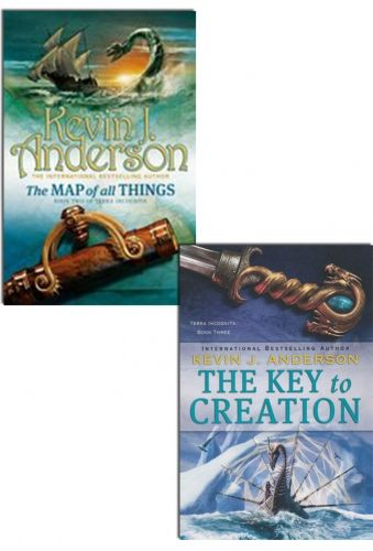Kevin J Anderson Terra Incognita Series. Collection of 2 Books by Kevin J Anderson #TheKeyToCreation #AdultFiction #Book #TheMapOfAllThings   http://www.snazal.com/kevin-j-anderson-terra-incognita-trilogy-2-books-collection---DEALMAN-U5-KevinJAnderson-2bks.html
