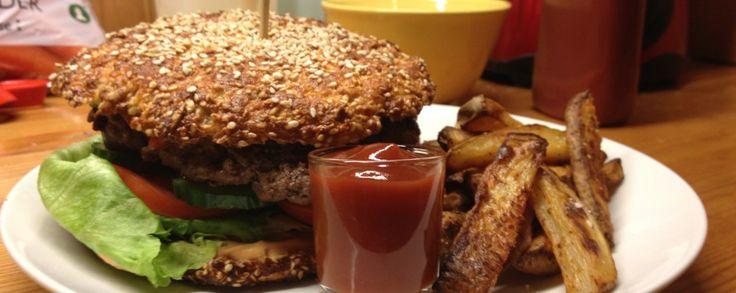 Opskrift på Sunde burgerboller - | Gymfoodie.com