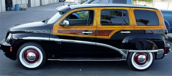 CHEVY HHR CONVERTED TO A WOODY WAGON