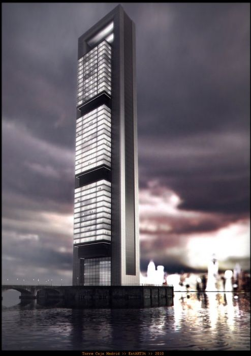 Norman Foster – Torre Caja Madrid  http://pulse.rs/norman-foster-torre-caja-madrid/