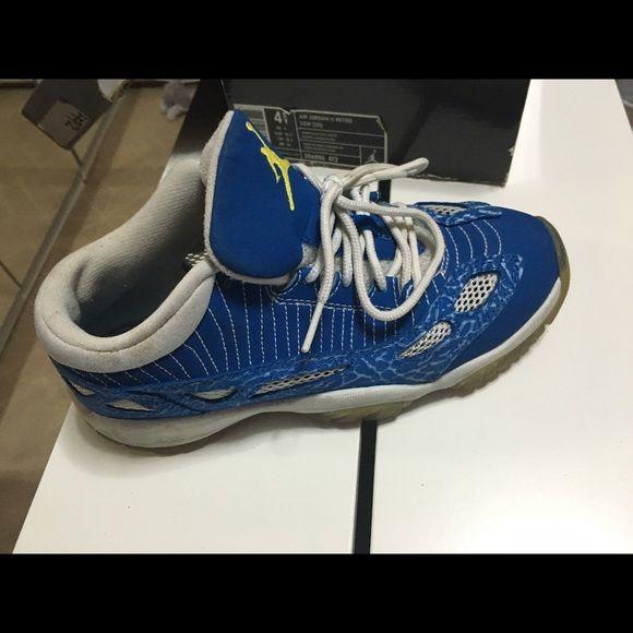 Discount Nike Air Jordan 11 Retro Nyx Black Blue
