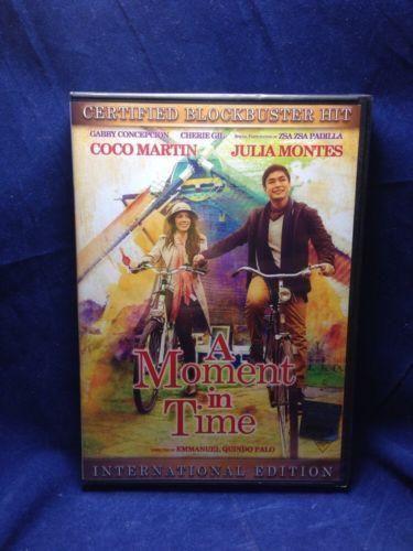 A Moment In Time Coco Martin & Julia Montes Filipino DVD
