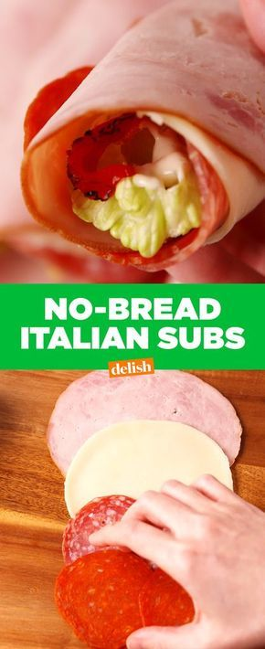 No Bread Italian Subs Are The Low-Carb Lunch Of Your Dreams - Delish.com