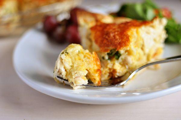Cheesy Chicken Quesadilla Pie   Food   Pinterest