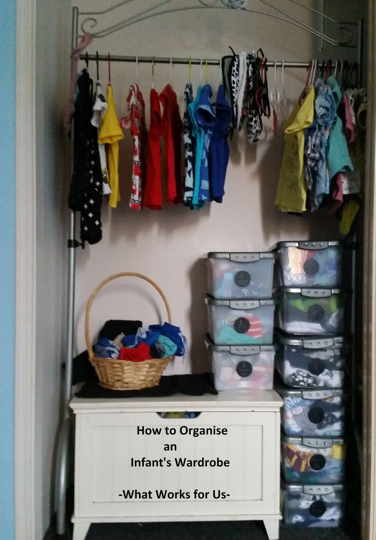 How to Organise Baby's Wardrobe Infant Clothes Nursery Set Up Organisation Organize Organization Baby Boy Clothes Kmart Op Shop Size 1 Size 000