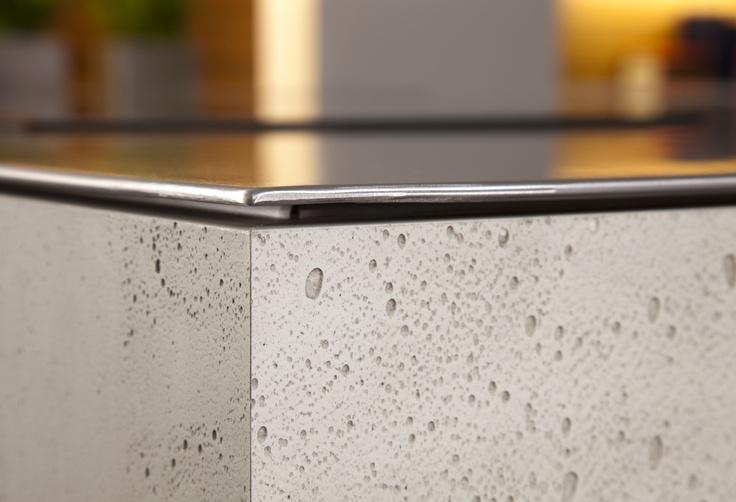 Imi-Beton il pannello effetto cemento It seems like concrete - küchenarbeitsplatte aus beton