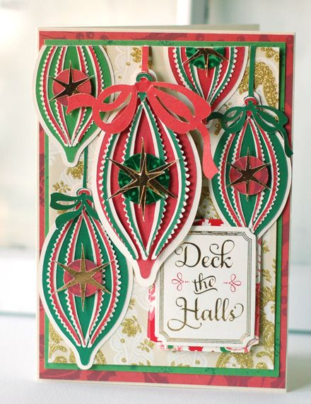 Anna Griffin Winter Wonderland Christmas card