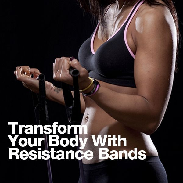 Transform Your Body with Resistance Bands!  #workouts #resistancebands