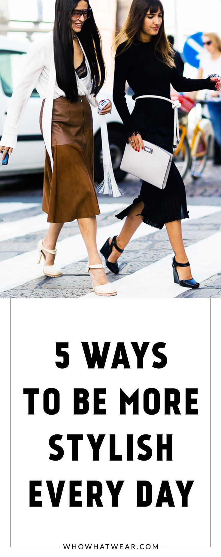 Simple style habits to practice every day