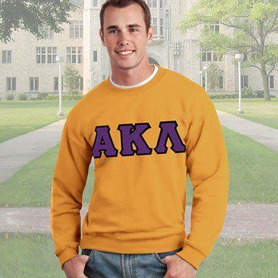 Alpha Kappa Lambda Crewneck Sweatshirt - Gildan 12000 - TWILL