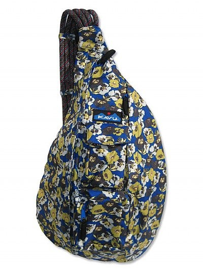 The Kavu Rope Sling Is A Water Resistant Medium Sized Shoulder Bag That Comes In Wide Array Of Cute Patterns And Unique Colorways