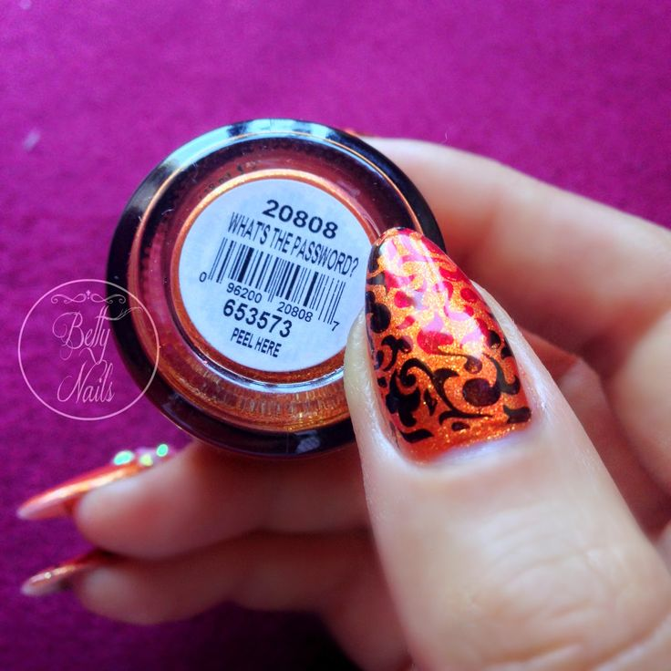Betty Nails: Orly What's The Password Nailart Bling Rhinestones